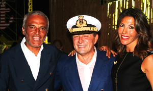 Party marinaro per Capitan Carlino